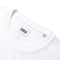 EDWIN - GYM TEE - WHITE
