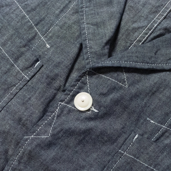 ENGINEERED GARMENTS - BEDFORD JACKET - BLUE CONE CHAMBRAY