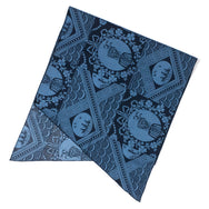 Engineered Garments - Long Scarf - Blue/Navy Ethnic Print