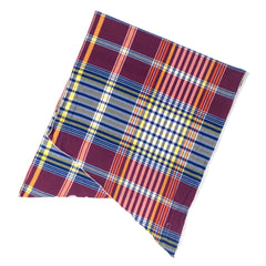 ENGINEERED GARMENTS  - LONG SCARF - RED/BLUE/YELLOW