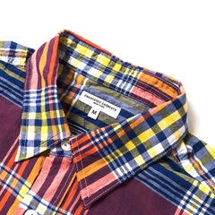 ENGINEERED GARMENTS - WORK SHIRT - RED/BLUE/YELLOW