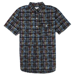 ENGINEERED GARMENTS - POPOVER BD SHIRT - DARK NAVY FLORAL