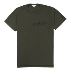 ENGINEERED GARMENTS - NOMAD T-SHIRT - OLIVE
