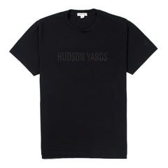 ENGINEERED GARMENTS - HUDSON YARDS T-SHIRT - NAVY
