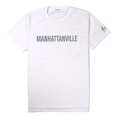 ENGINEERED GARMENTS - MANHATTANVILLE T-SHIRT - WHITE