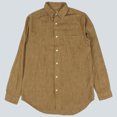 GANT RUGGER - THE SLUBBER SHIRT - GREEN