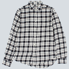 GANT RUGGER - BROOKLYN TWILL HOPC SHIRT - BLACK