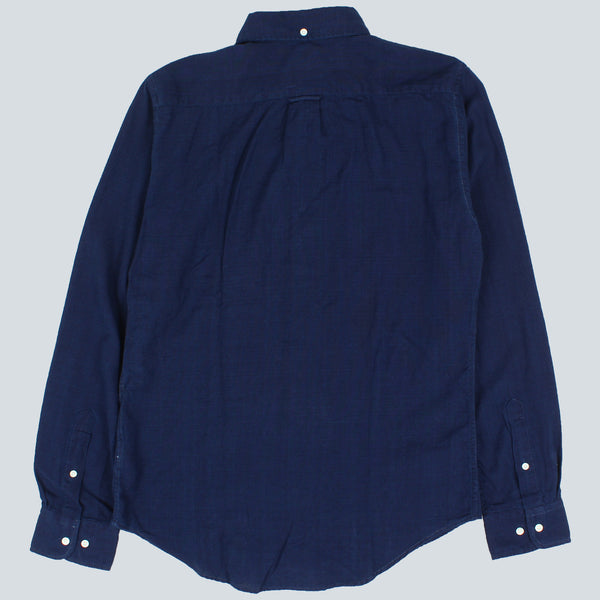 GANT RUGGER-INDIGO OXFORD HOBD SHIRT-DARK INDIGO