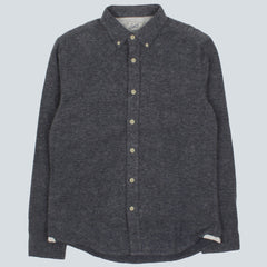 GRAYERS-HEALEY HERITAGE FLANNEL - PINE NAVY HEATHER