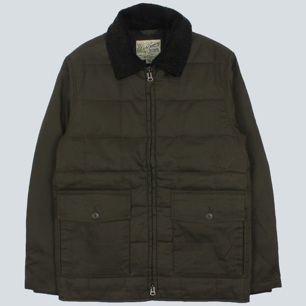 GRAYERS-MONTANA WAXED AND QUILTED PARKA