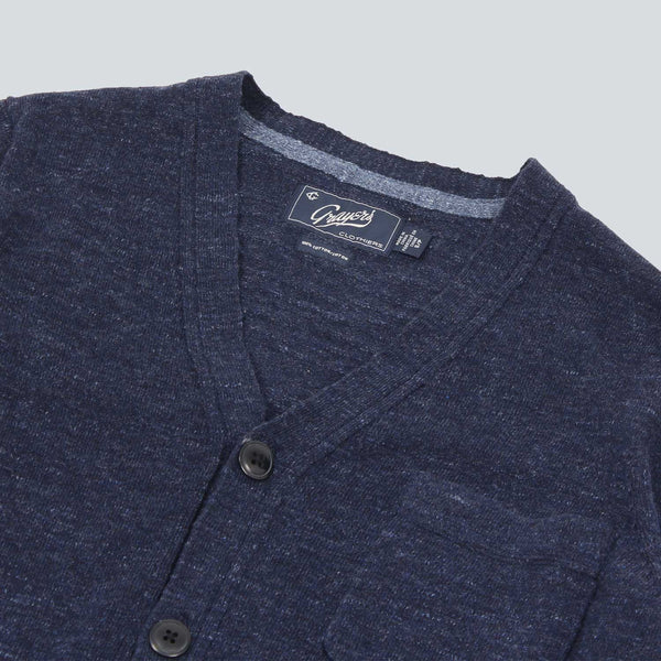 Grayers - Shore Club Cardigan - Navy
