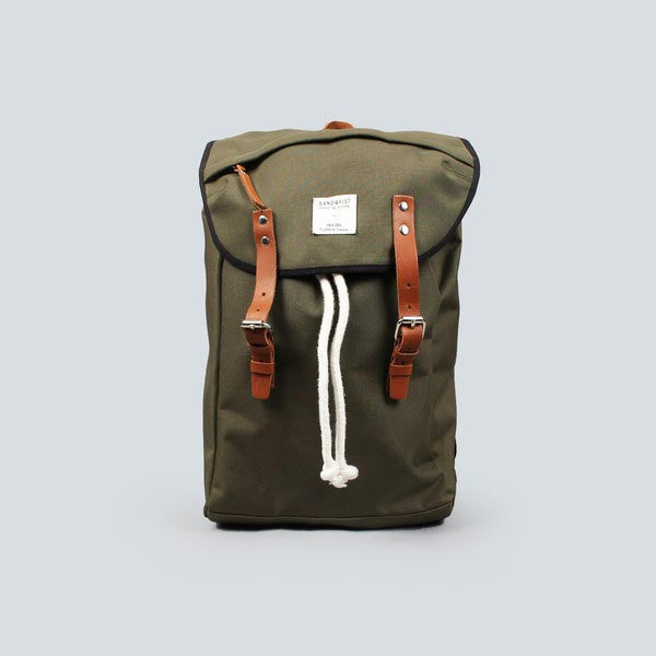 Sandqvist Hans Backpack - Green