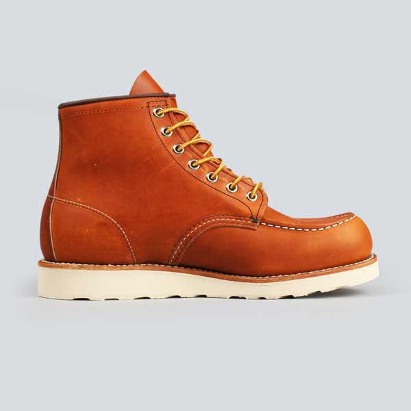 red wing moc toe, oro-iginal - inner side