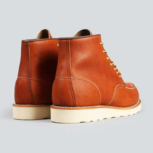 red wing moc toe, oro-iginal -  rear