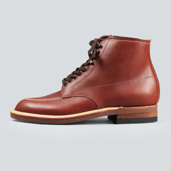 alden indy boot -  classic brown - outerside