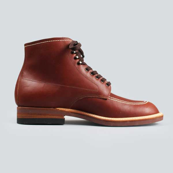 alden indy boot -  classic brown - inner side shot