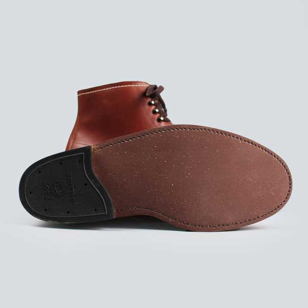 alden indy boot -  classic brown - outer sole