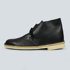 Clarks Originals Desert Boot - Black Tumbled Lea