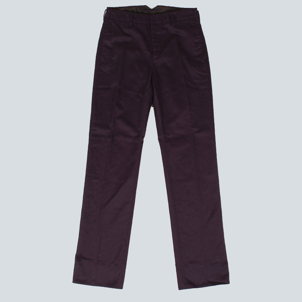 INCOTEX-MENS TROUSERS-PURPLE