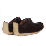 PADMORE & BARNES - M480 FOR YMC - BROWN SUEDE