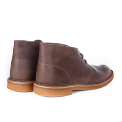 CLARKS ORIGINALS - DESERT BOOT - CAMEL LEATHER