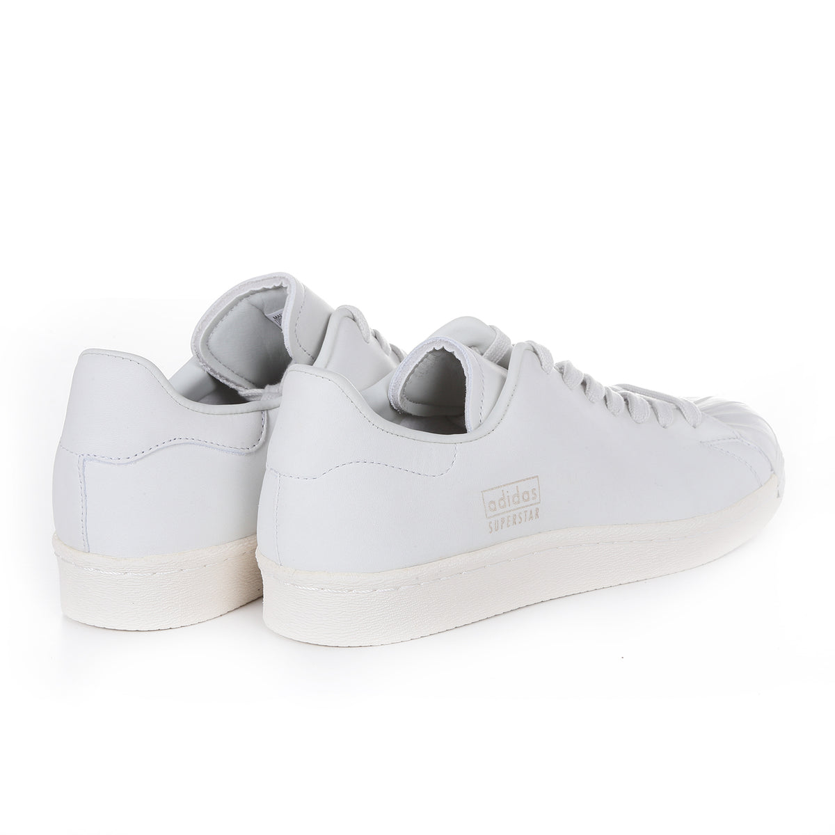 SUPERSTARS 80'S CLEAN - CRYSTAL WHITE/OFF WHITE