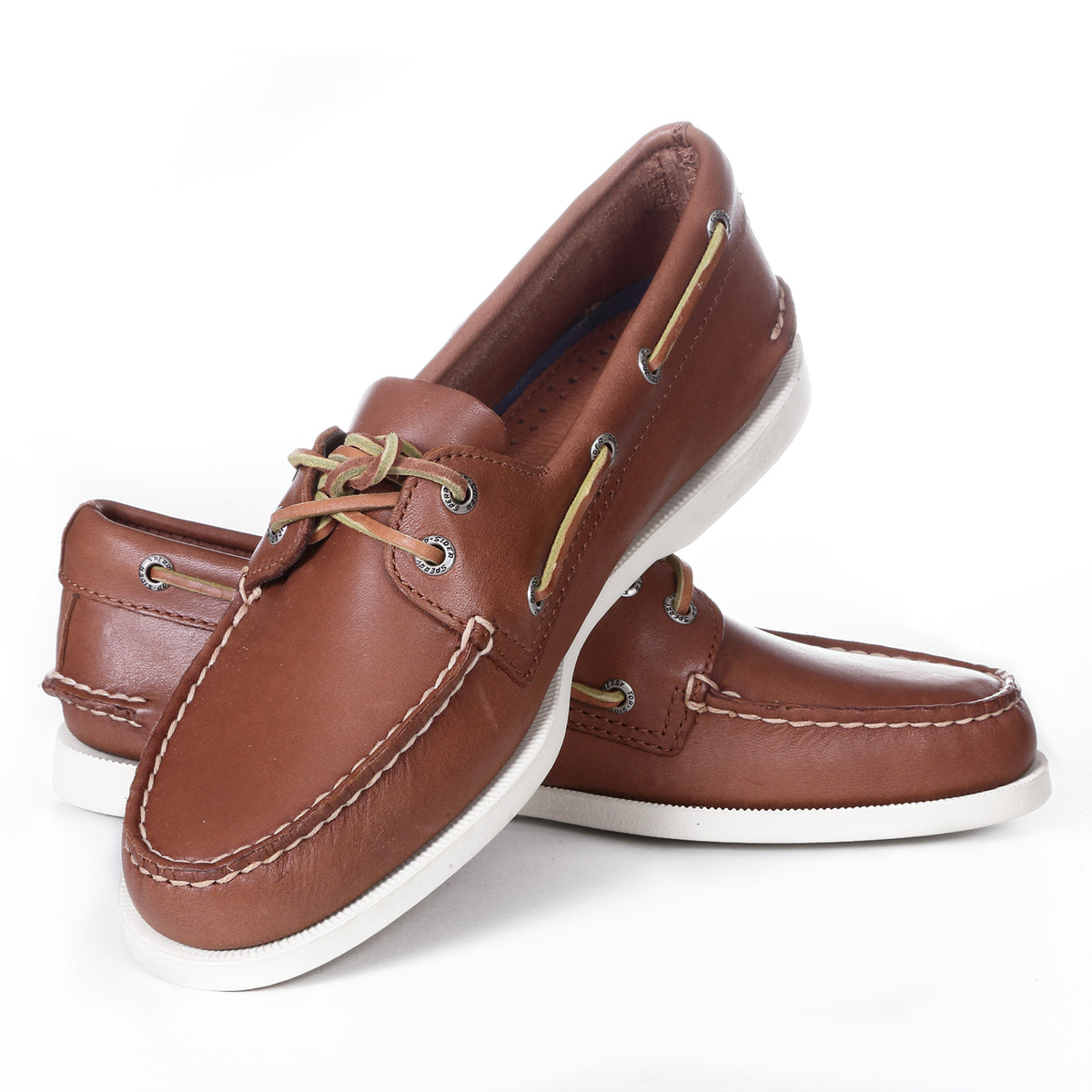 Sperry Topsider - Authentic Original 2-Eye Boat Shoes - Tan