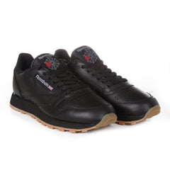 Reebok - Classic Leather - Black/Gum