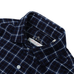 A.B.C.L - FLANNEL CHECK SHIRT - NAVY