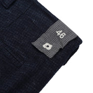 LARDINI - RELAXED TROUSERS - NAVY