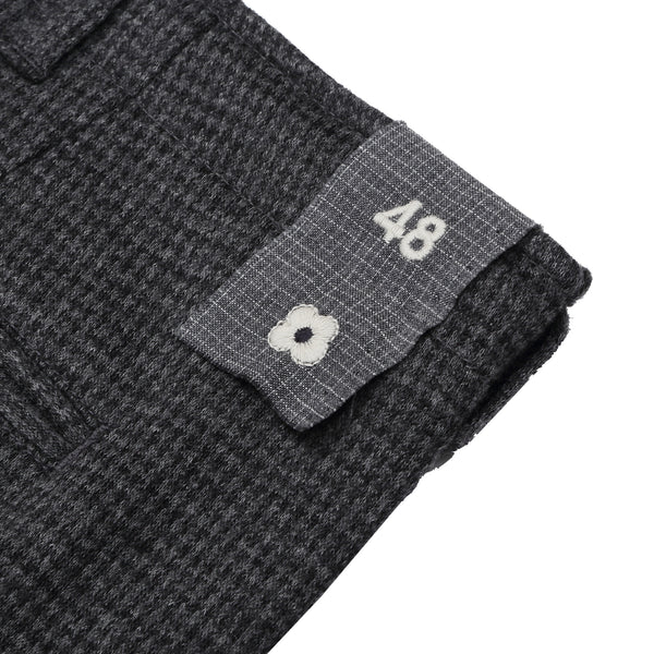 LARDINI - RELAXED TROUSERS - CHARCOAL