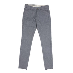 Lardini - Tapered Trousers - Grey Marl Twill