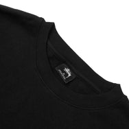 STUSSY - SHADOW STOCK APP CREW - BLACK