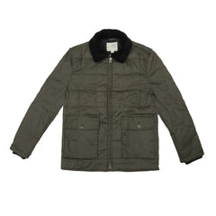 GRAYERS - MONTANA WAXED AND QUILTED PARKA - OLIVE