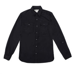 Monitaly - Triple Needle Shirt - Black