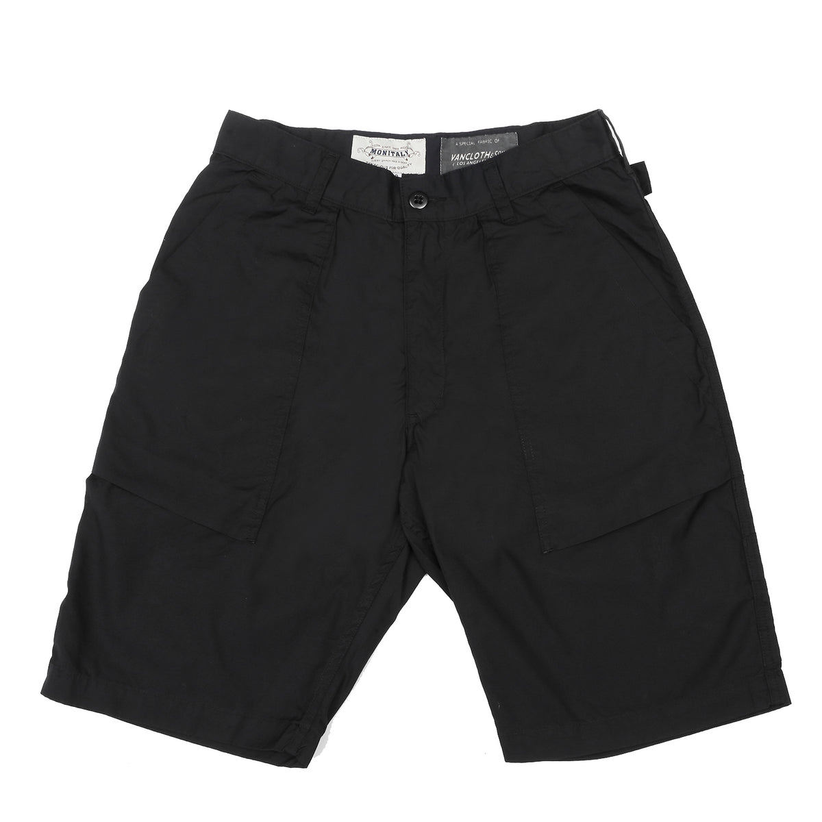 Monitaly - Utility Shorts - Black