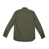MONITALY - TRIPLE NEEDLE SHIRT - OLIVE