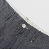 ENGINEERED GARMENTS - GHURKA SHORTS - BLUE CONE CHAMBRAY