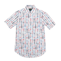 GITMAN VINTAGE - GONE FISHING POPOVER SHIRT