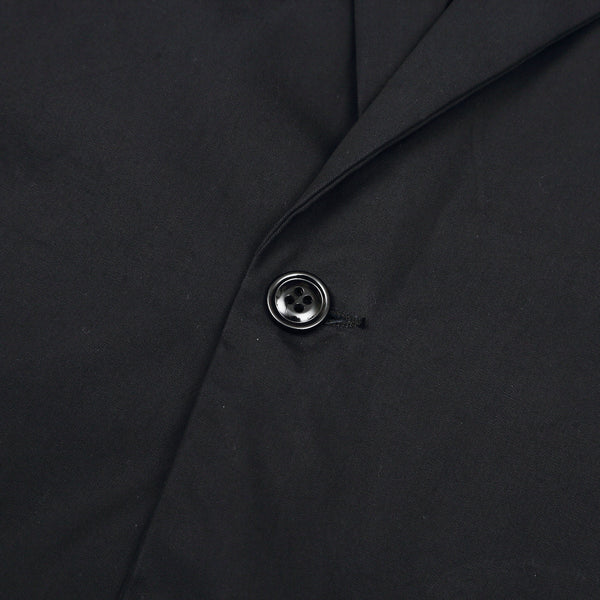 MONITALY - DROPPED LAPEL BLAZER - BLACK