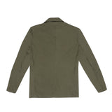 MONITALY - DROPPED LAPEL BLAZER - OLIVE