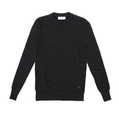 CREWNECK SWEATER - HEATHER GREY