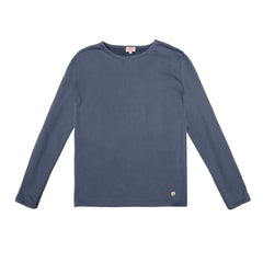 ARMOR LUX - TERRY CLOTH SWEATER - AVIO BLUE