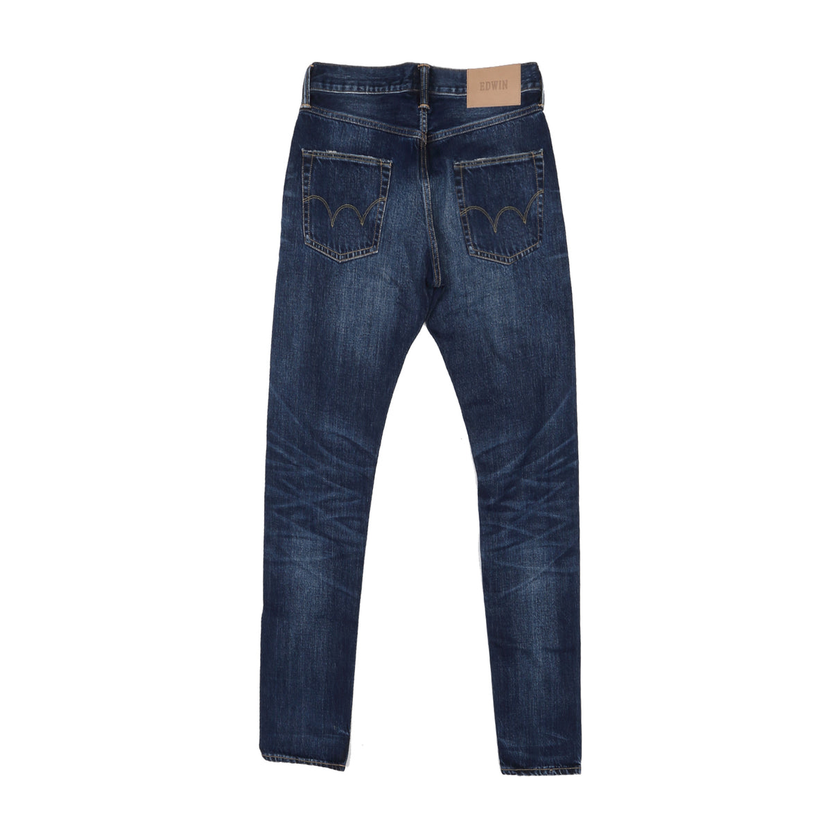 EDWIN - ED55 RAINBOW SELVAGE - DARK BLUE WASH