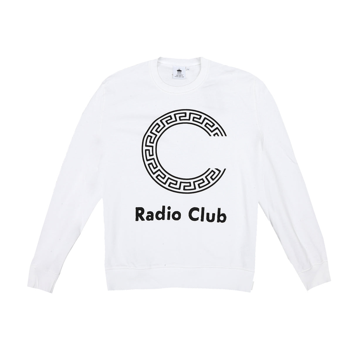 CARHARTT x P.A.M - RADIO CLUB LOGO SWEAT - WHITE/BLACK