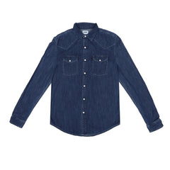 EDWIN - MEMPHIS SHIRT - LIGHT BLUE DENIM