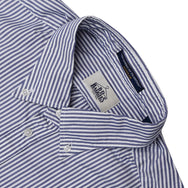 B.D. BAGGIES - BRADFORD BUTTON DOWN - NAVY BENGAL STRIPE
