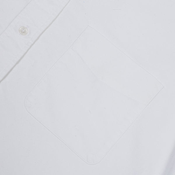 B.D. BAGGIES - BRADFORD BUTTON DOWN - WHITE (MEDIUMWEIGHT)