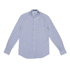 B.D. BAGGIES - BRADFORD BUTTON DOWN - BLUE BENGAL STRIPE
