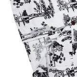 CARHARTT - S/S HAWAII SHIRT PINE PRINT - WHITE/BLACK